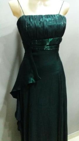 Vestido Verde escuro Social
