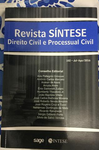 Revista Síntese Vol 102 Direito Civil e Processual Civil