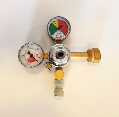 Regulador de Pressão Co² - 1 e 2 vias