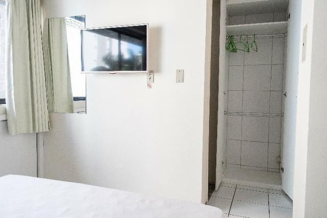 Flat 103, 4º pavimento Boa Viagem, completíssimo, Praia e Shopping Center - Foto 7