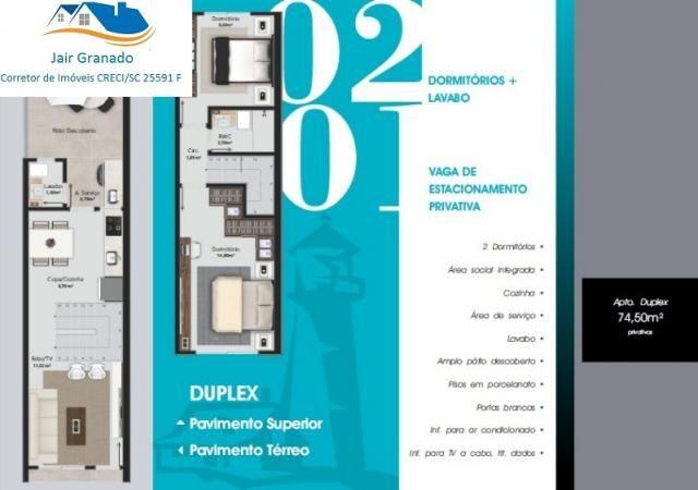 Apartamento à venda com 2 dormitórios em Rio pequeno, Camboriu cod:AP01075 - Foto 2