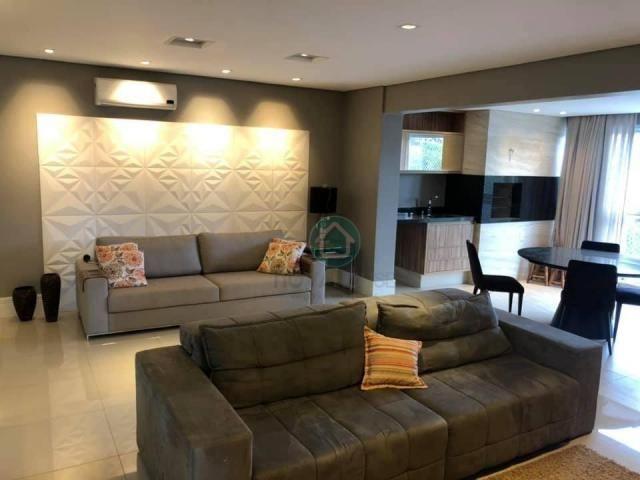 Apartamento com 3 dormitórios à venda, 132 m² por r$ 1.000.000,00 - centro - campo grande/ - Foto 12