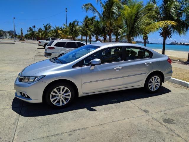 Honda Civic Semi Novo Completo e Automatico 2014 Conservado - Foto 10