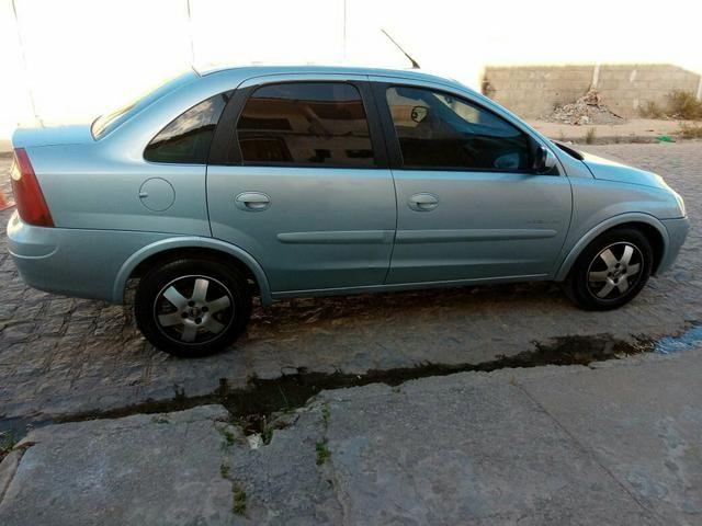 Vendo Corsa Sedã Premium 1.4 2010 completo de Tudo! - Foto 5