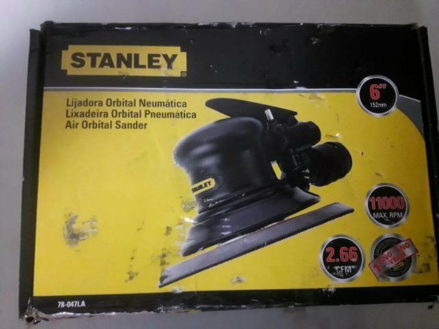 Lixadeira Roto Orbital 6 P Pneumática - Stanley - Foto 3