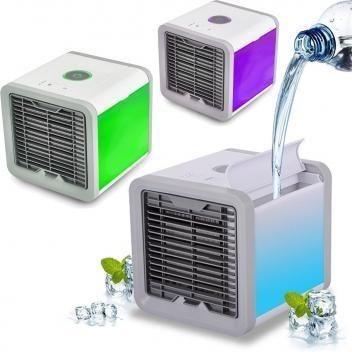 Climatizador De Ar Pessoal 3 níveis de ventilação USB - Foto 4