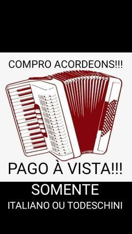 Compro acordeon italiano ou todeschini