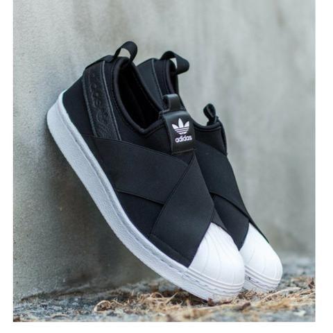 0cb8f66d83 Tênis Adidas Superstar Slip On Elástico - Roupas e calçados - Vila ...