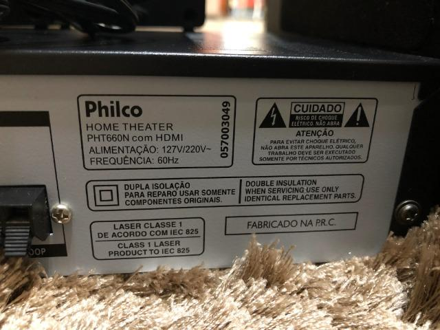 Home Theater Philco PHT660 5.1 Canais - 360W - Foto 3