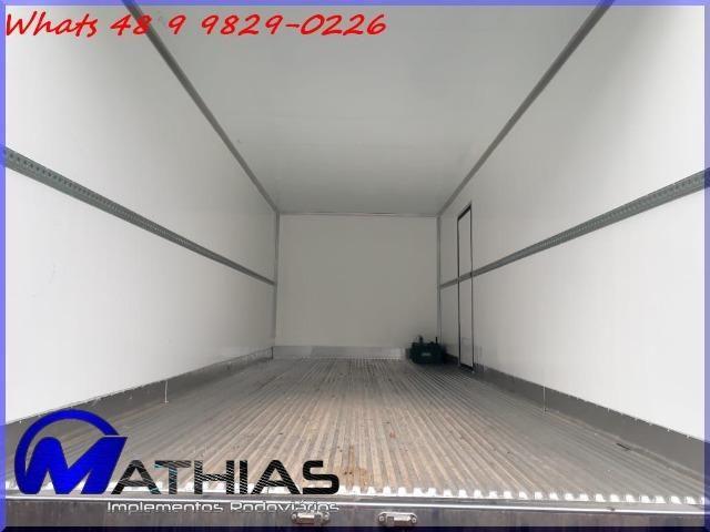 Baú frigorífico para caminhão toco seminovo paleteiro Mathias implementos