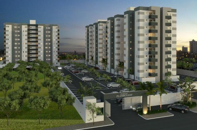 Apartamento Planta Residencial Flamboyant Próximo ao Industrial - Foto 2