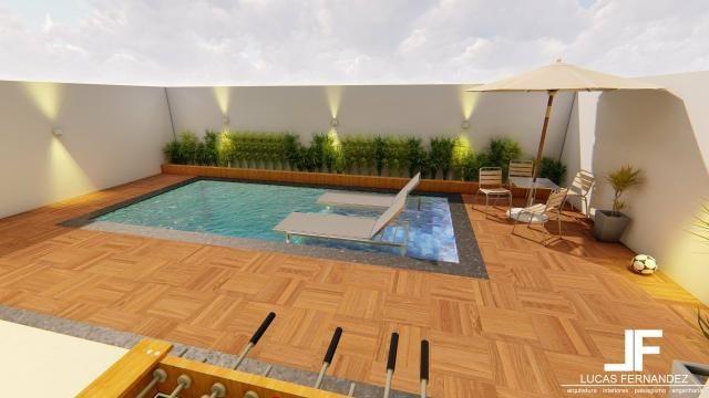 Casa 4quartos suite piscina churrasqueira rua 12 condomínio frente taguapark - Foto 4