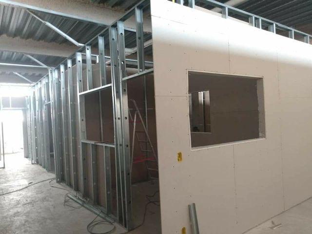 Divisorias e forro em acartonado drywall - Foto 2