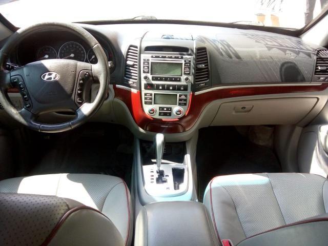 SANTA FÉ 2008/2009 2.7 MPFI GLS 7 LUGARES V6 24V GASOLINA 4P AUTOMÁTICO - Foto 8