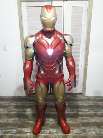Armadura Cosplay Fantasia Homem de Ferro