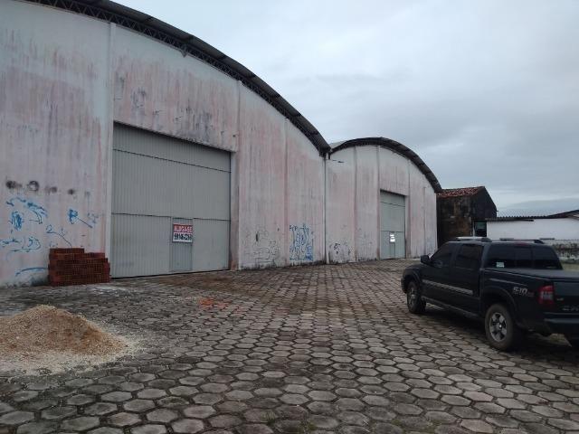 2 galpões com 1.120 m² cada um por 8 mil cada galpão pra locação em Castanhal - Foto 2