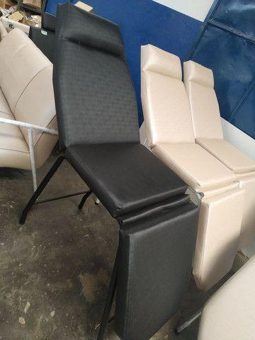 Cadeira hidráulica @ lavatório @ maca @ poltrona @ Mocho @ manicure e mais - Foto 3