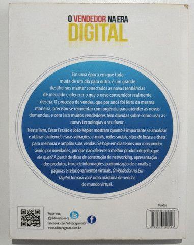 Livro O Vendedor Na Era Digital Cesar Frazão João Kleper - Foto 2