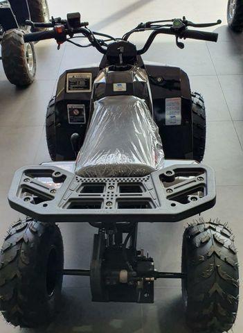Mini quadriciclo fun motors tauros 110cc 4 tempos NOVO - Foto 4