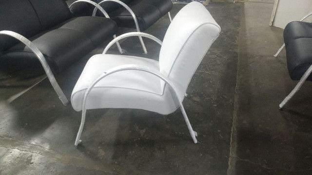 Poltrona recepção !!! Fábrica de móveis pra salão de beleza !!!! - Foto 4