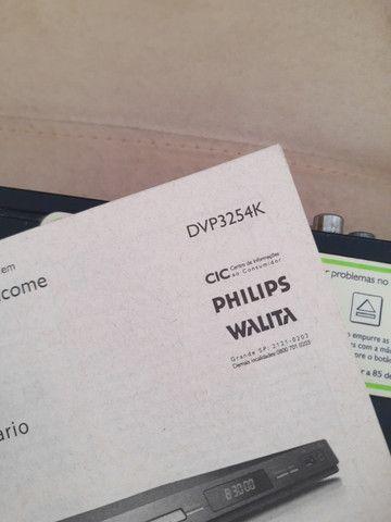Dvd Player Philips 3254KX/78 (Sem defeito) - Foto 4