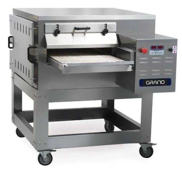 Forno inox de esteira para pizza Grano FE-500 (novo) Alecs