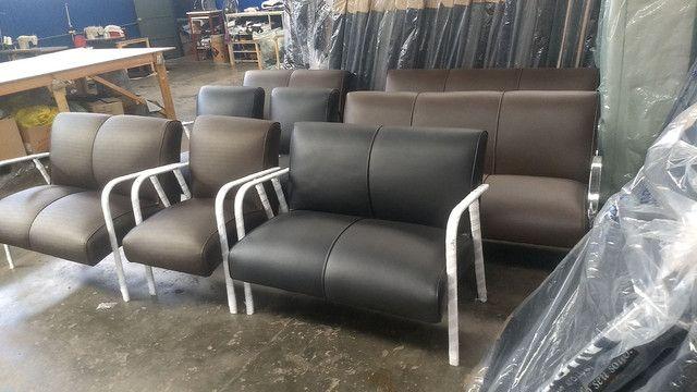 Poltrona recepção !!! Fábrica de móveis pra salão de beleza !!!! - Foto 3