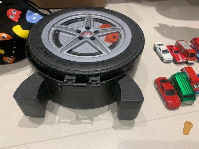 Porta carrinhos hot wheels