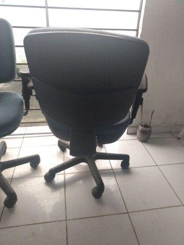 Só hoje! Cadeiras giratória para escritório - Foto 3