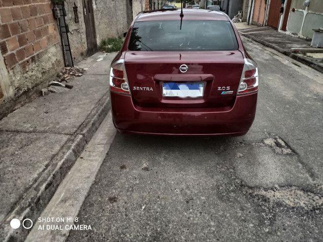 Nissan Sentra 2.0S completo automático + couro + GNV 5° - Foto 5
