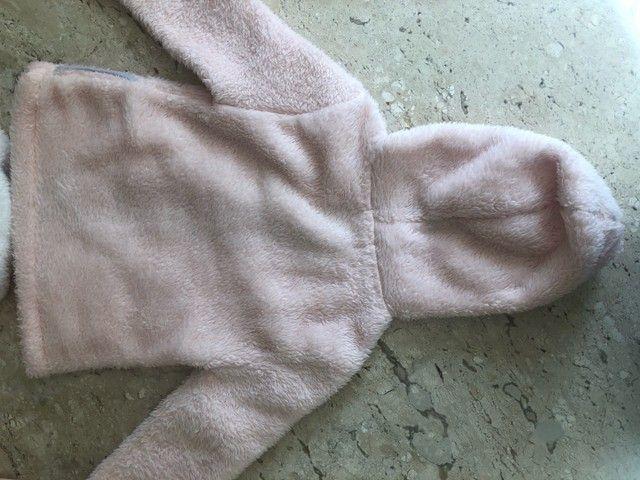 Casaco em soft com  capuz - tam 3 - Foto 3