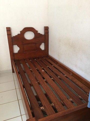 Cama madeira pura - Foto 4