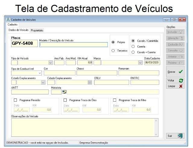 Sistema de Gestão para Transportadoras de Fretes, Transportes. Cadastros, Caixa,Financeiro - Foto 2
