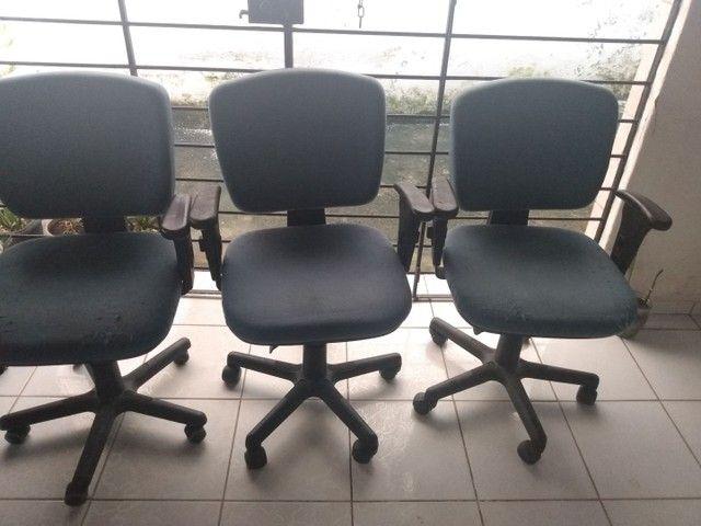 Só hoje! Cadeiras giratória para escritório - Foto 6