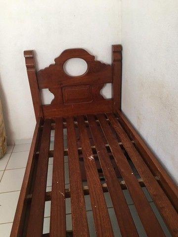 Cama madeira pura - Foto 2