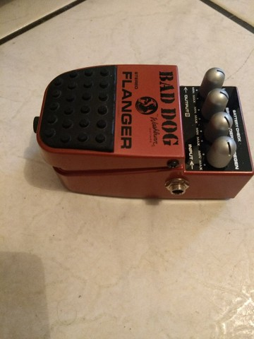 Pedal washburn flanger stereo bad dog