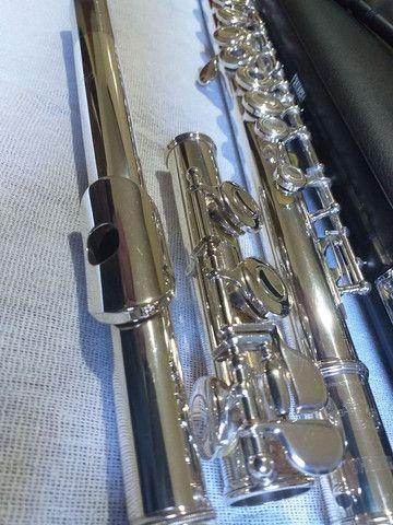 Flauta transversal yamaha 261 japan revisada  - Foto 3