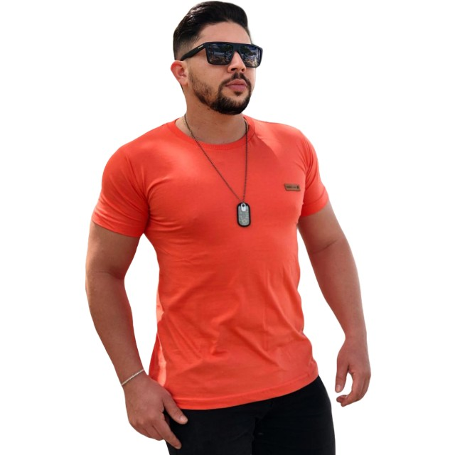 10 Camisas Masculinas lisas - Foto 5