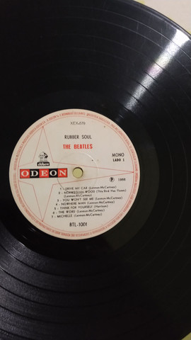 LP no estado the Beatles/WORLD OF - Foto 2