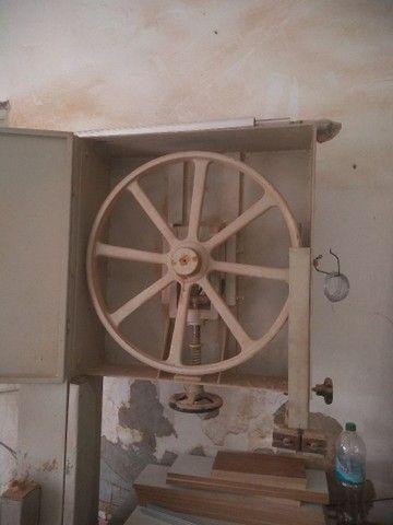 Vendo serra de fita funcionando seminova - Foto 2