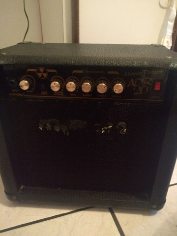 Caixa de guitarra meteoro atomic drive adr20 - Foto 3