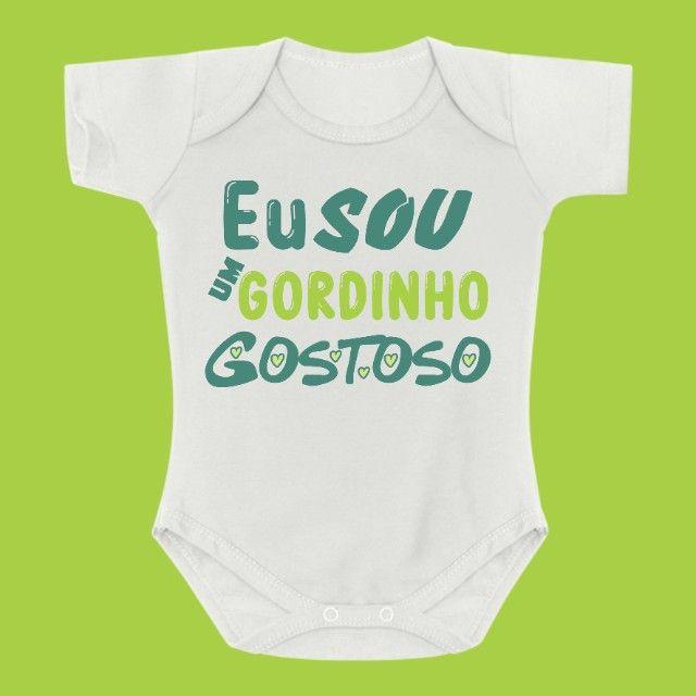 Body de Bebê Personalizado - Foto 5