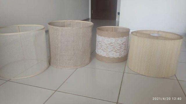 Cupulas e luminárias artesanais - Foto 2