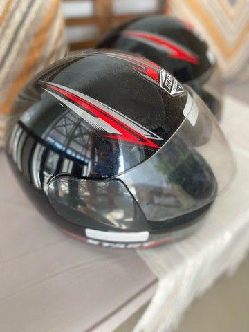 Dois capacetes TAM 58 R$130,00 - Foto 2