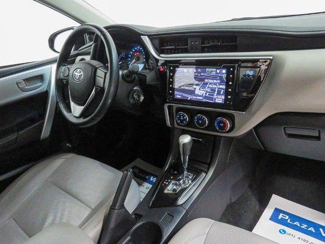 Toyota Corolla 1.8 GLI Upper Flex Automático 2018/2018 - Foto 12