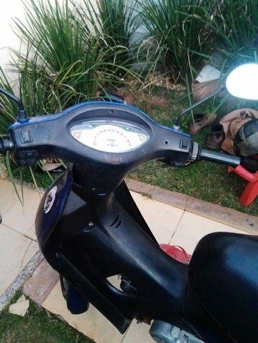 Moto biz azul  - Foto 3