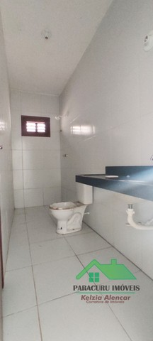 Ampla casa nova com dois quartos pertinho da rádio mar azul em Paracuru - Foto 11