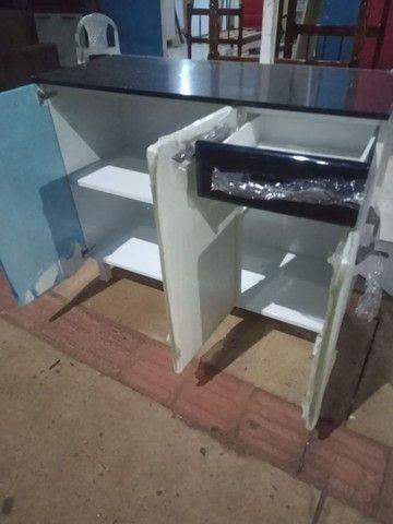 Balcão de aço novooo apronta entrega - Foto 2