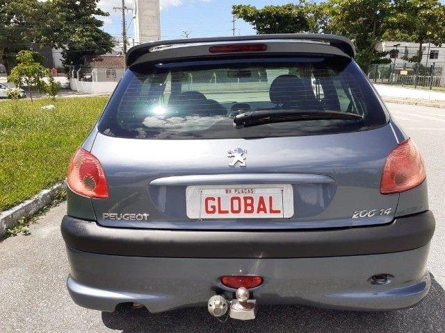 Direto Sem Consulta na Global-Peugeot 206 Pres 1.4 -2005 Completo r$7.790 Leia o Anúncio - Foto 13