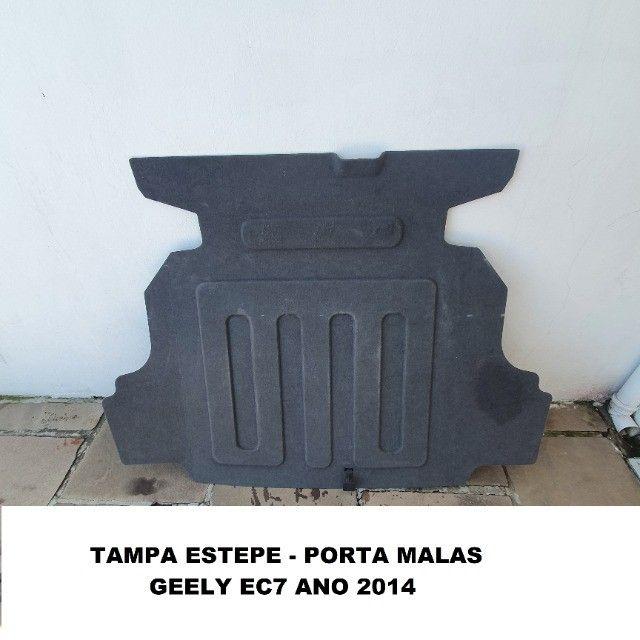 Tampa estepe Geely EC7 ano 2014 - Foto 2